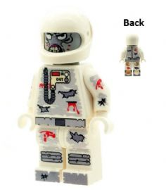 Zombie Spaceman (Astronaut) Walking Dead - Custom Designed Minifigure